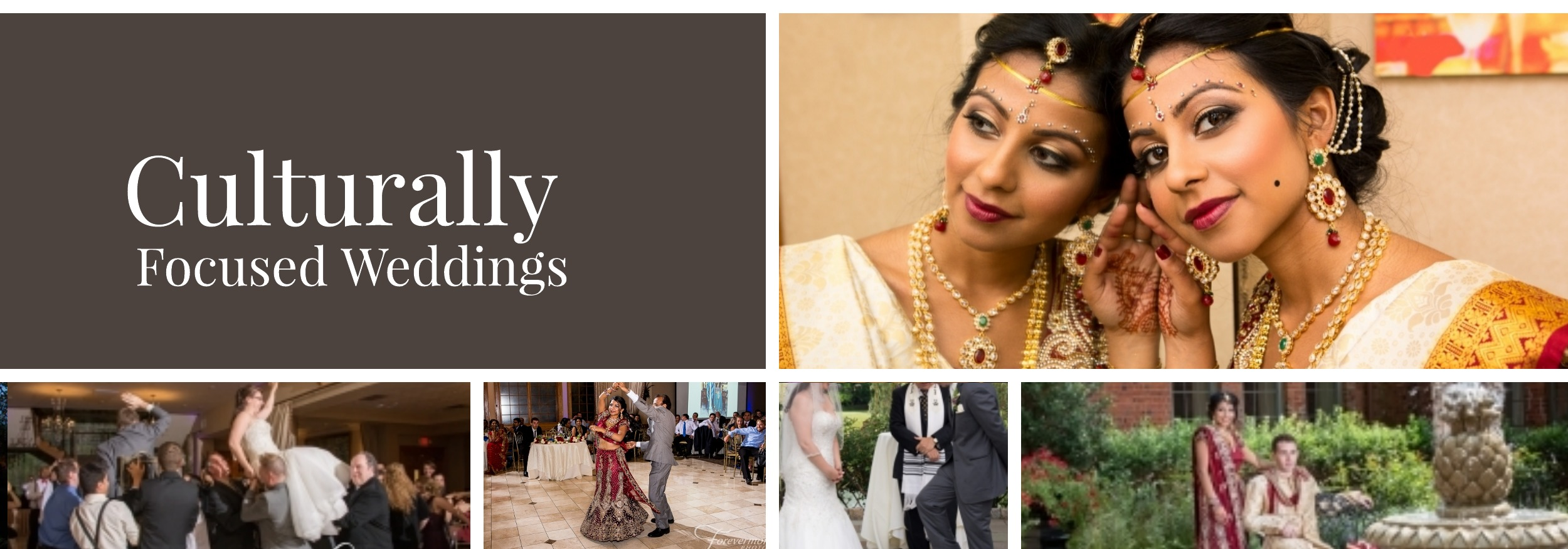 culturally focused wedding reception at Talamore